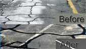 Crack Repair: Before & After
